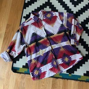 Men's Vintage Cabela's Western Southwest Shirt 🌵